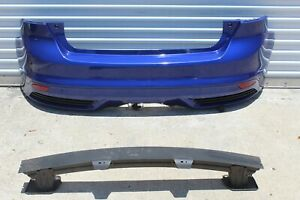 2013 2014 Ford Focus St St3 Complete Rear Bumper W brackets And Absorber Blue
