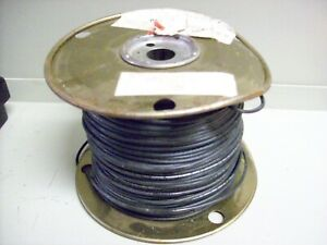 6 New Spool Of Electric Wire 14 Guage Solid 461 Black