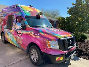 2014 Nissan Nv 2500 Hd Ice Cream Truck turnkey Mobile Ice Cream Business For Sal