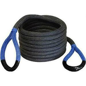 Bubba Rope Bubba Recovery Rope 7 8 Inch X 30 In Blue Black 176680blg