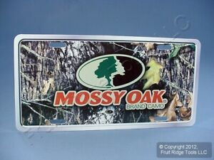 Mossy Oak Brand Camo Mlp2401 Auto Truck Car Suv Camouflage Hunting License Plate