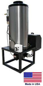 Water Heater For Cold Water Pressure Washers 115v Diesel Fired Burner 8 Gpm