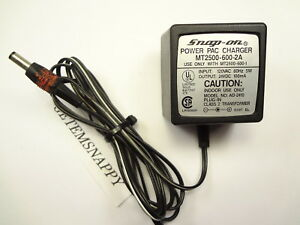 Snap On 24v Power Pac Charger A C Cord Scanner Adapter Mt2500 600 2a