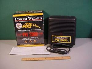 New Power Wizard High Performance Electric Fence Energizer Pw2000