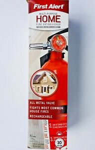 New In Box First Alert Multipurpose Home Fire Extinguisher Fe1a10g0
