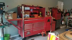 Matco 2 Bay Tool Box With Extras