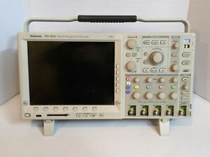 Tektronix Dpo 4034 350mhz Digital Oscilloscope With Two P6139a Probes