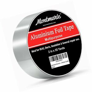 Montmarle Aluminium Foil Tape Extra Strong And Insulating Hvac Duct Tape
