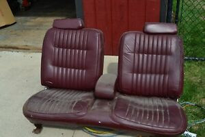 Cadillac Allante Leather Power Seat