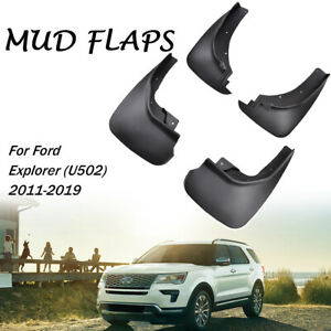 Xukey Molded Mud Flaps Mudguards Splash Guards Mudflaps For Ford Explorer 11 19