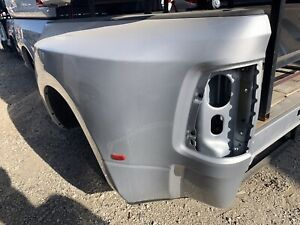 2010 2018 Dodge Ram 3500 Dual Rear Wheel Short Truck Bed Silver No Tailgate