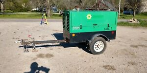 2013 Sullivan Palatek D185p Jd S a Towable Air Compressor 185 Cfm Diesel
