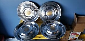 Cadillac Sombrero Hubcaps Clean Set Of Caddy Caps