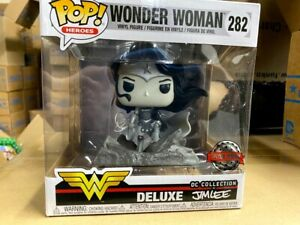 Funko Pop Black and White Wonder Woman #282 Jim Lee Special Edition $39.95
