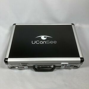 Ucansee 104 piece Optical Glass Lens Set Metal Rim Glasses Optometry Trial Kit