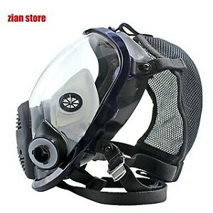 6800 7 In 1 Gas Mask Full Face Mask For Organic Acid Gas Protection Smear Chemic