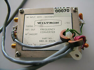 Wiltron 660 d 9157a Frequency Converter 10 2000mhz