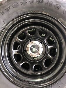 Brand New Wheels And Tires 100 Tread 5x5 5 Wheel Size Is 16x8 W P265 75r16
