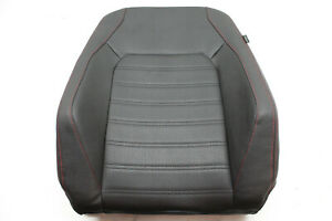 12 Vw Jetta Gli Front Left Upper Seat Cushion Red Stitching 11 13 14 15 16 17