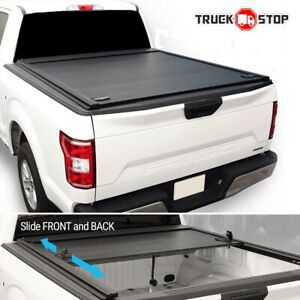 2019 2021 Ram 1500 5 7ft Bed Retractable Solid Hard Waterproof Tonneau Cover