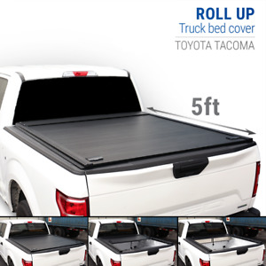 10 20 Tacoma 5ft Bed Aluminum Retractable Roll Lock Waterproof Tonneau Cover