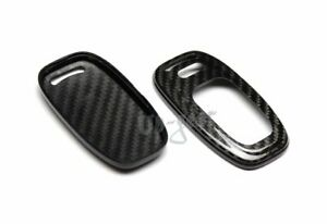 For Audi A3 A4 A5 A6 A7 A8 100 Real Carbon Fiber Remote Key Shell Cover Case