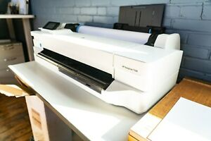New Hp Designjet T100 24 Color Thermal Inkjet Plotter With Wifi