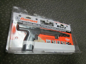 New Ramset Rs22 Trigger Actuated Single Shot 22 Caliber Powder Fastening Tool