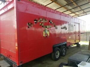 40 Fifth Wheel Food Concession Trailer Used Mobile Kitchen For Sale In Califo