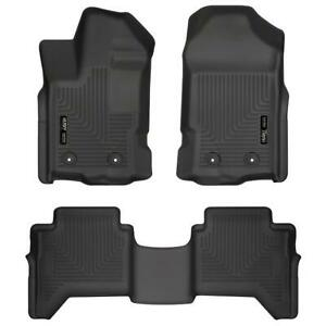 Husky Liners 94101 Weatherbeater Front 2nd Seat Floor Liners For Ford Ranger