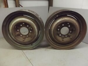 Chevrolet Truck 6 Lug Rims Wheels Steel 1953 1952 1951 1950 1949 Chevy 16