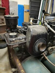 Antique Vintage Briggs Stratton 5s complete Turns Over not Stuck May Run