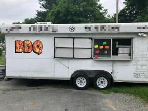 8 X 18 Food Concession Trailer For Sale In Pennsylvania