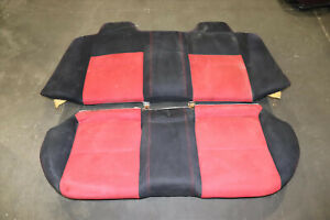 Jdm 2006 2011 Honda Civic Fd2 Type R Fa5 Sedan Red Black Rear Seats Ctr K20a