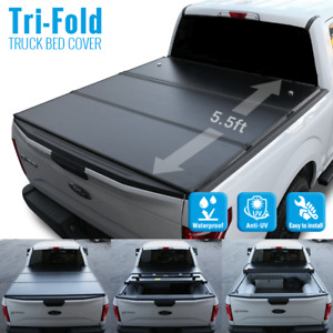 09 18 Ram 1500 5 7ft Aluminum Hard Lockable Tri Fold Waterproof Tonneau Cover