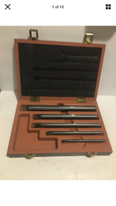 Kennametal Indexable Boring Bar Set Of 5 With Wood Box