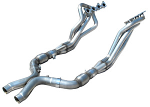 Arh 1 7 8in X 3in Exhaust Headers For 2011 2014 Ford Mustang 5 0l Coyote