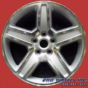 Dodge Charger Magnum 2008 2009 2010 18 Machined Silver Oem Wheel Rim 2326