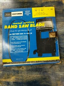 Genuine Craftsman 1 4 Width 80 in Length Band Saw Blade 2625