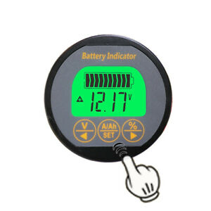 Battery Monitor 4in1 Dc 80v 350a Soc Ah Volt Amp Capacity Tester State Of Charge