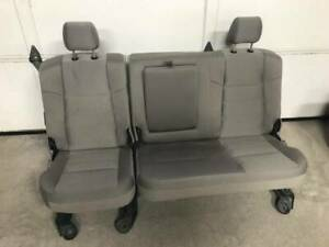Used 08 10 Ford F250 F350 Sd Crew Cab Rear Stone Gray Cloth Bench Seat