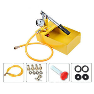 1pc Durable Aluminum Pressure Test Pump Hydraulic Tester For Sewer Lines Boilers