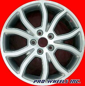 Ford Fusion 2010 2011 2012 18 Machined Gray Original Oem Wheel Rim 3801