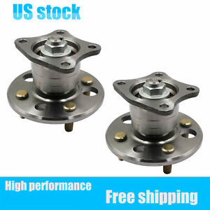 2x Rear Wheel Hub Bearing Assembly 512018 Fits Chevrolet Prizm Toyota Corolla