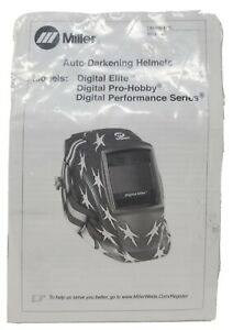 Miller Auto Darkening Welding Lens Replacement Digital Elite Pro hobby Performan