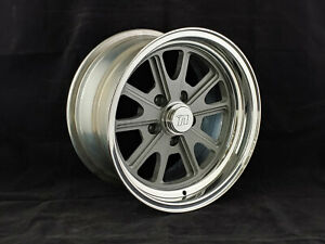 Circle Racing Gray Bullet Gt Set Of 4 Wheels 15 X 8 5 X 4 50 Bp 4 50 Bs