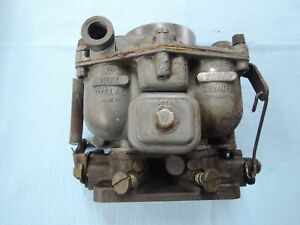 Porsche 356 Zenith Carburetor For Parts Or Rebuild 32mm 1 58