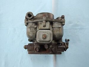 Porsche 356 Zenith Carburetor For Parts Or Rebuild 32mm 2 65