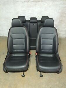 2015 Mk6 Vw Jetta Leather Seats Heated Front Rear Bench Set Factory Oem 960
