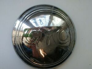 Vintage Gmc Wheel Cover Hubcap Chrome Script Logo Dog Dish Baby Moon Hub Cap